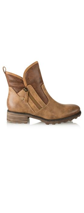 Tamaris  Urban Chunky Imit Boot Cognac