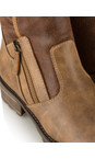 Tamaris  Cognac Urban Chunky Imit Boot