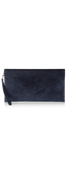 Pure White Paluzza Handbag Navy