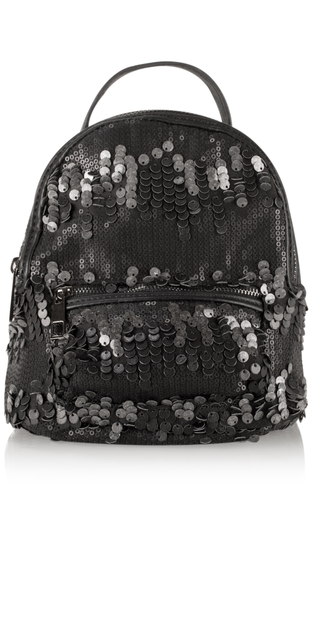 Cara Matt Sequin Mini Backpack main image
