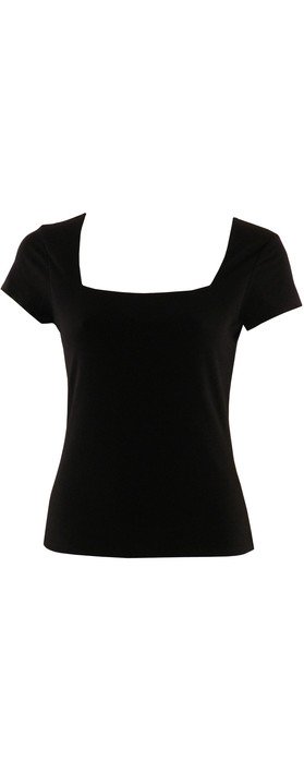 Fenn Wright Manson Square Neck T-Shirt Black