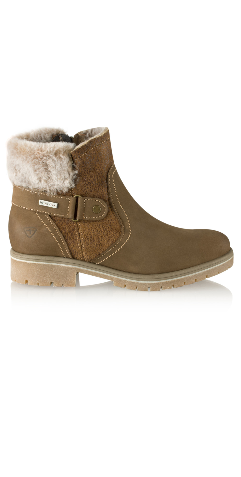 Leather Sympatex Water Resistant Ankle Boot main image
