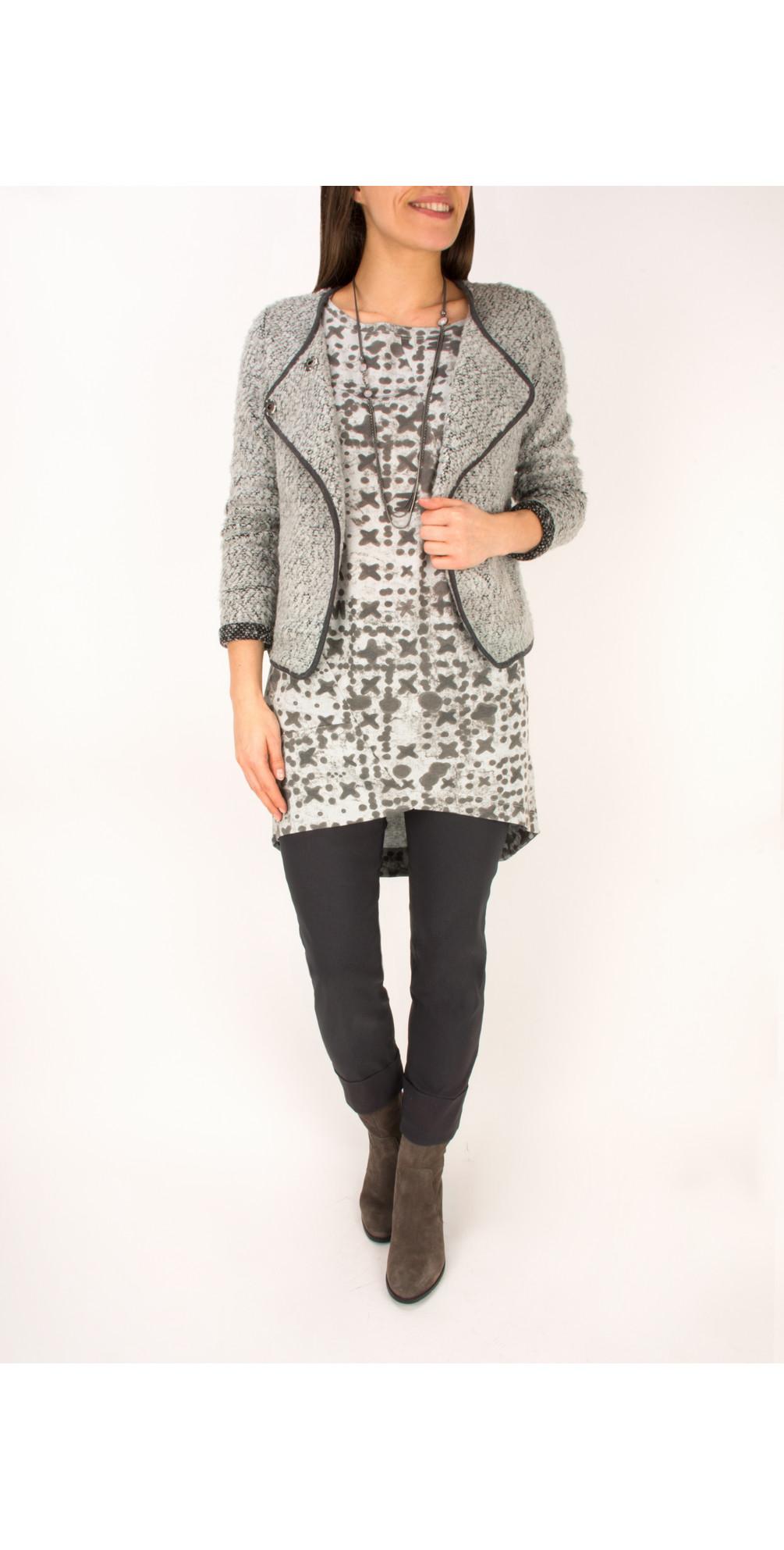 Boucle Knit Jacket main image
