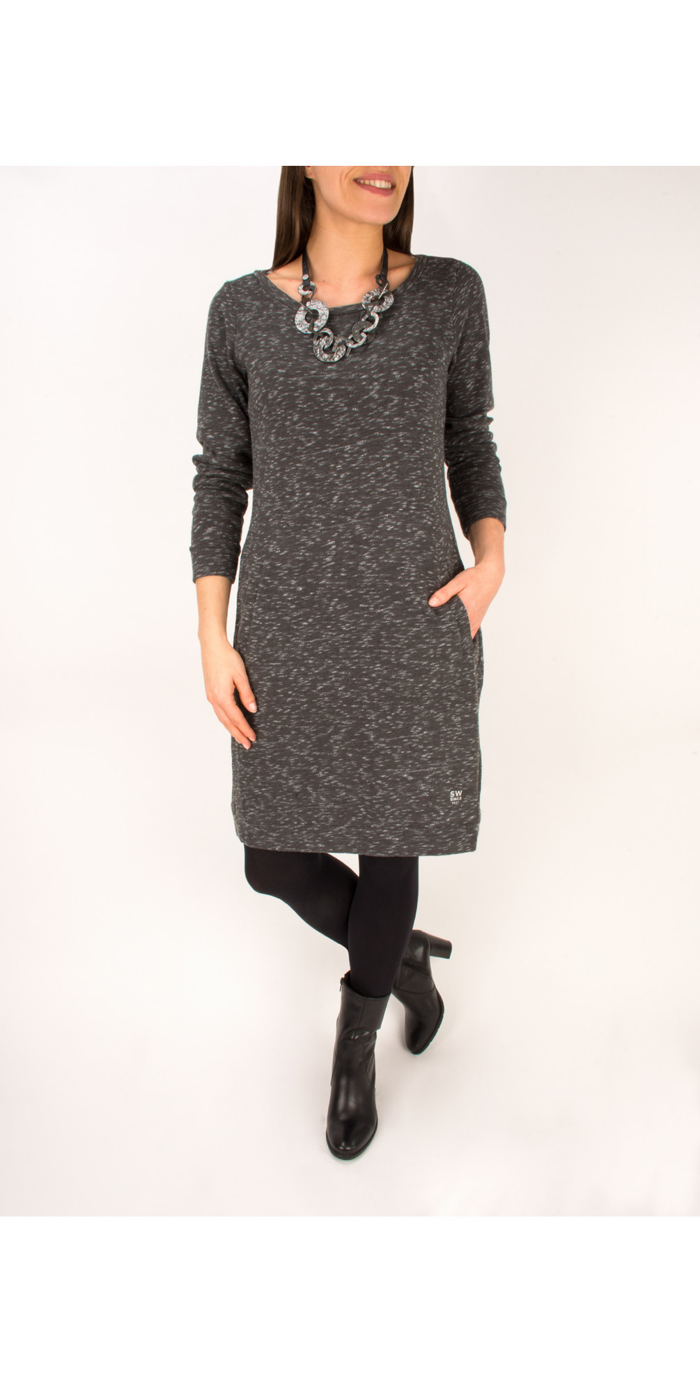 Slub Terry Sweat Dress main image
