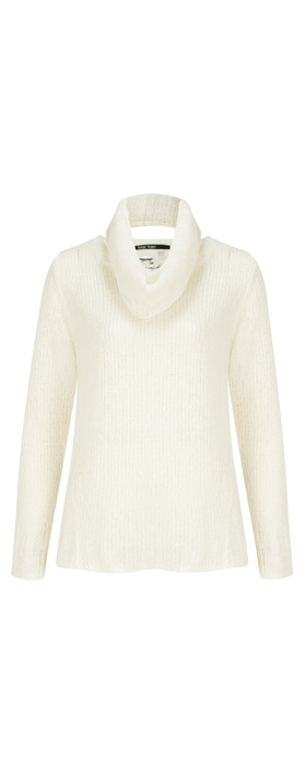 Marc Aurel Luxe Day Knit Jumper Off-White