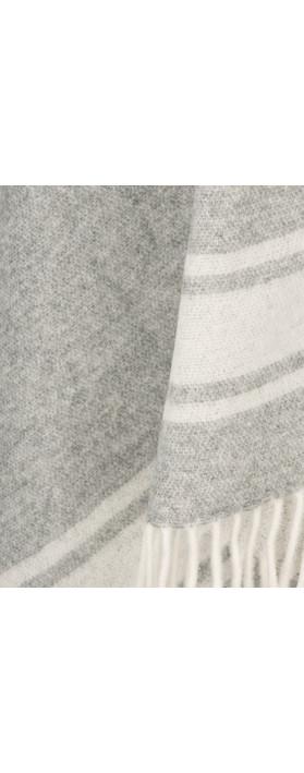 Marc Aurel Luxe Day Super Soft Poncho Light Grey Mel