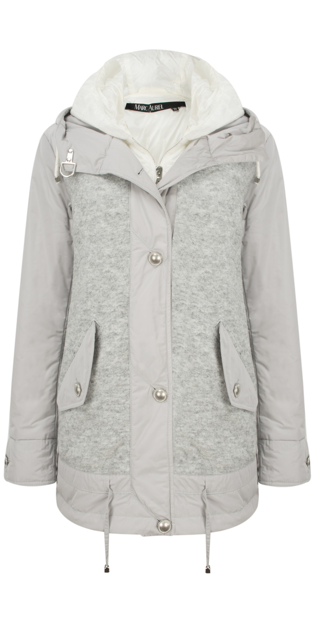 Luxe Day Hooded Jacket main image