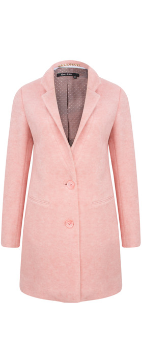 Marc Aurel Luxe Day Super Soft Coat Dusty Peach