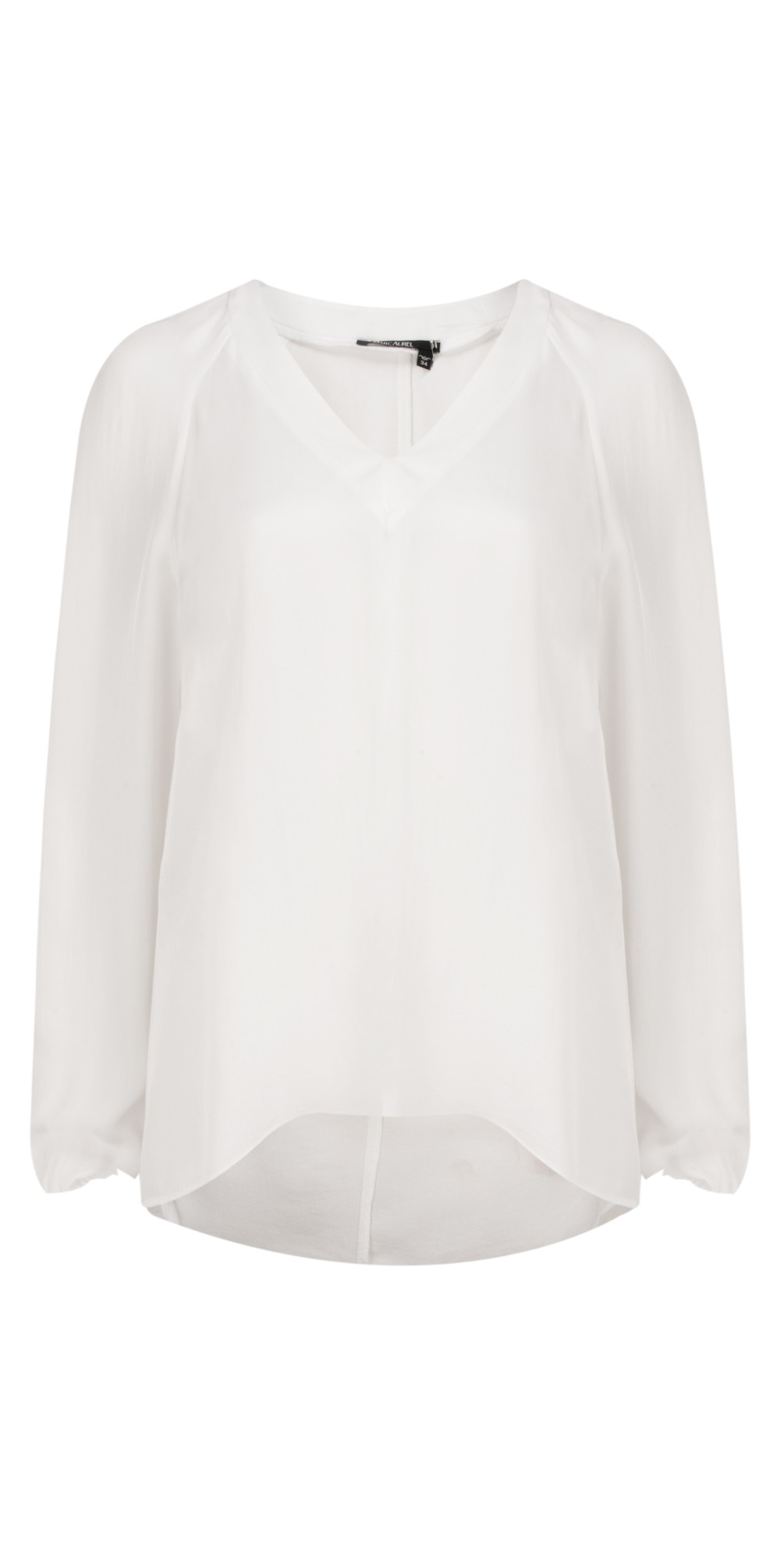 Luxe Day Drape Blouse main image