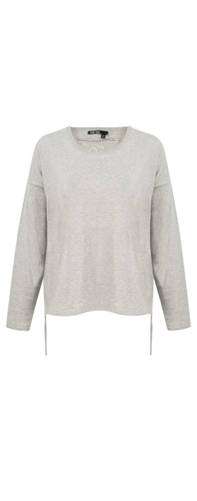 Marc Aurel Luxe Day Super Soft Jumper Light Grey Mel