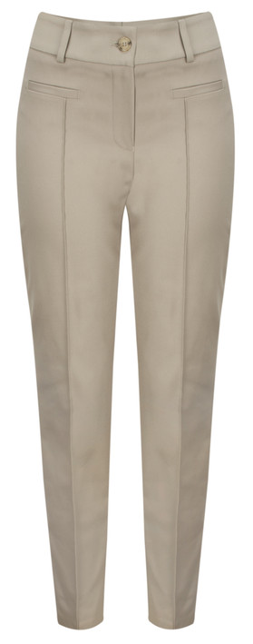 Marc Aurel Luxe Day Fitted Trouser Taupe
