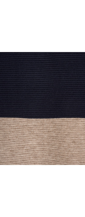 TOC  Dorte Colour Block Jumper Dress Navy