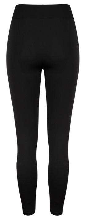 TOC  Leeza Fleece Lined Footless Tights  Black