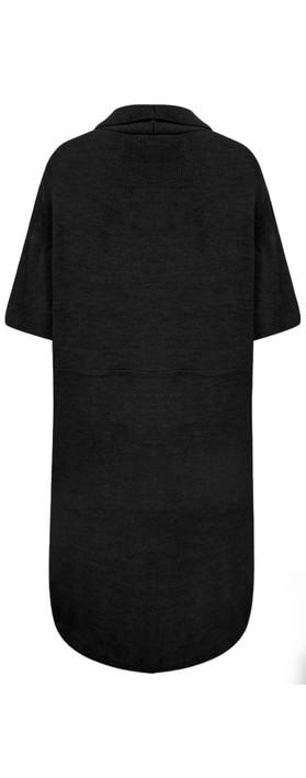 TOC  Caris Easyfit Sleeveless Cardi Black