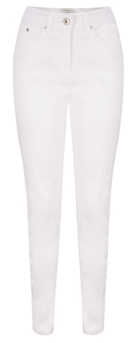 Sandwich Clothing Essentials Highwaist Skinny Pants Optical White