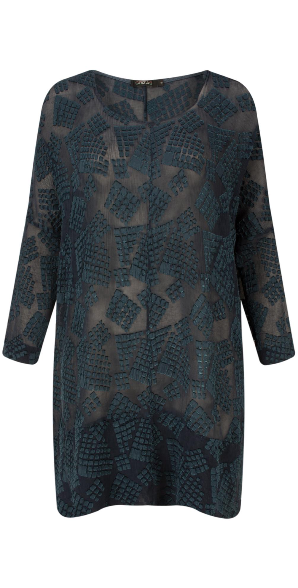 Silk Devore Tunic main image