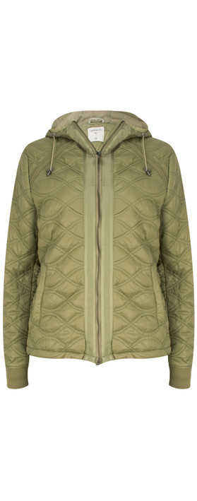 Sandwich Clothing Patterned Jacket Sage Green