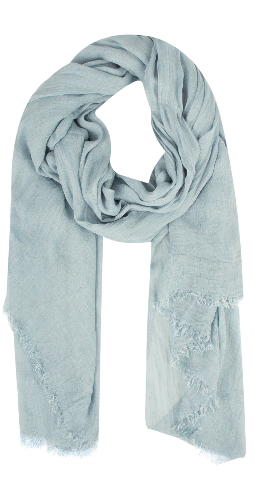 Crinkle Effect Woven Scarf main image