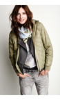 Sandwich Clothing Sage Green Patterned Jacket
