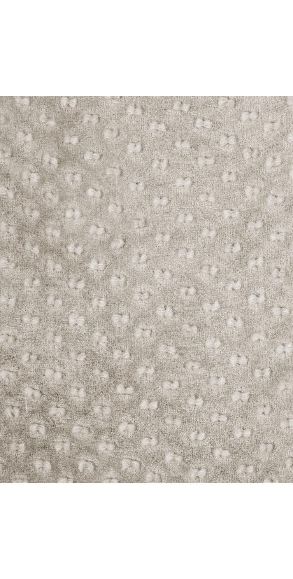 Oliato Silk Linen Dot Scarf main image