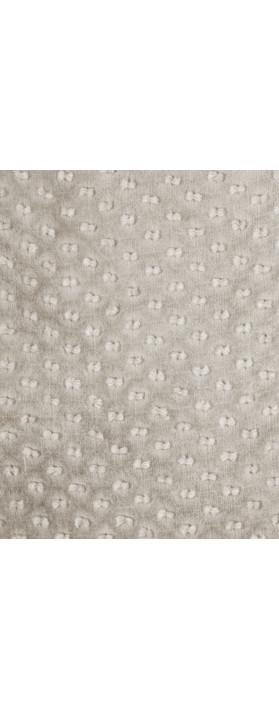 Grizas Oliato Silk Linen Dot Scarf 967 Mousey