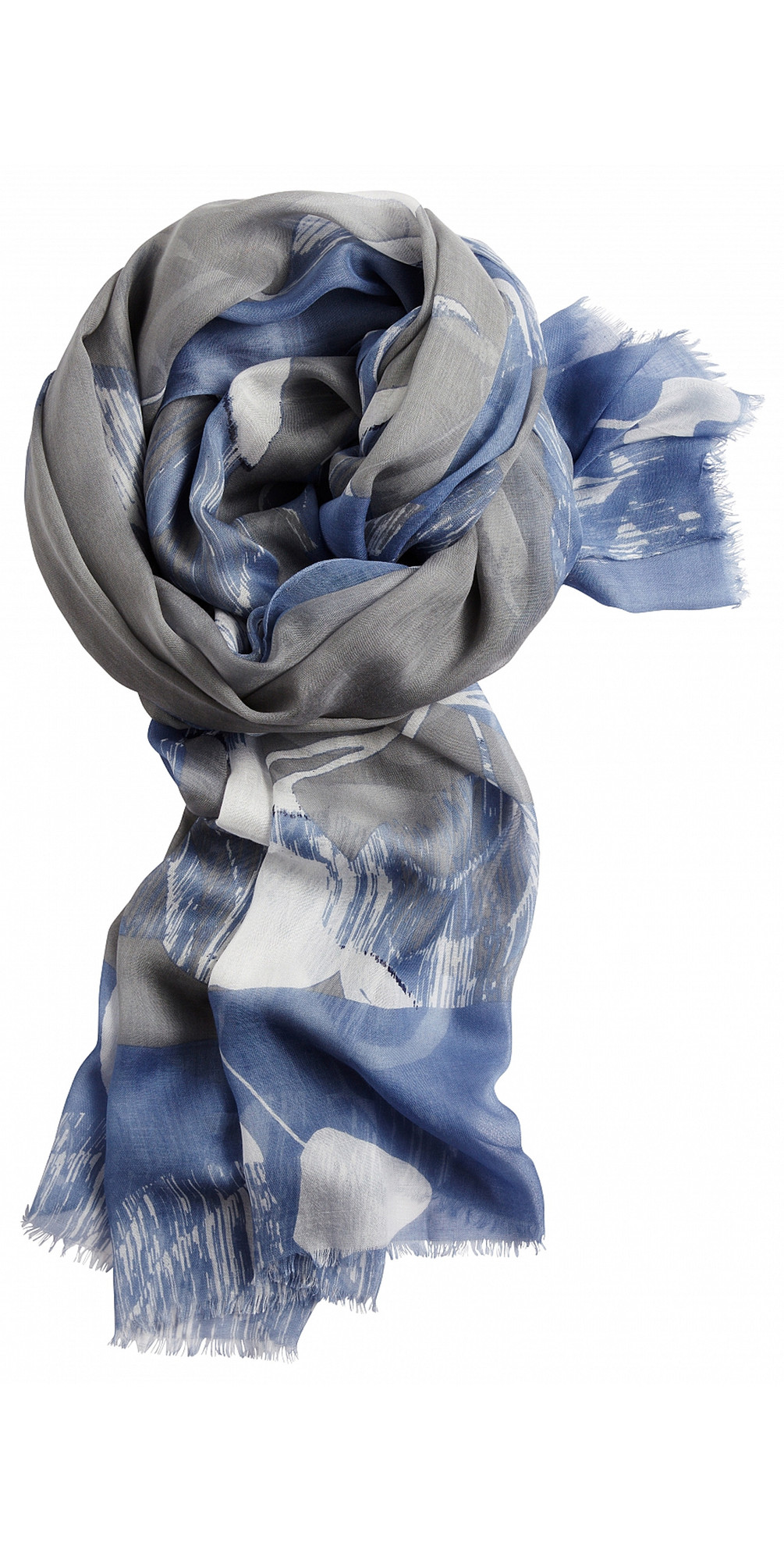 Floral Print Woven Scarf main image