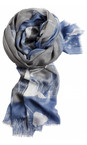 Sandwich Clothing Light Stone Floral Print Woven Scarf