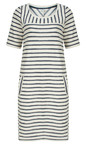 Sandwich Clothing Lily White Textured Stripe Jersey Dress