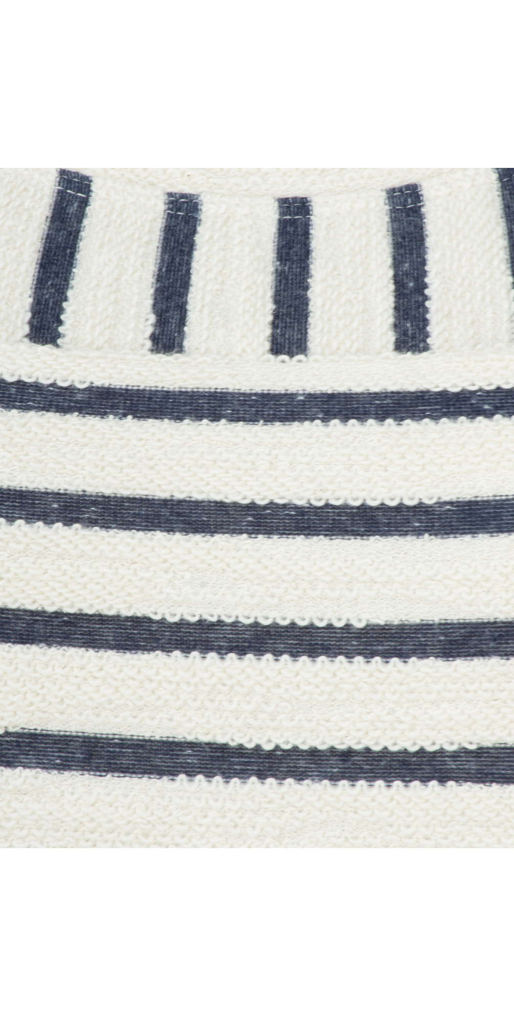 Textured Stripe Jersey Dress main image