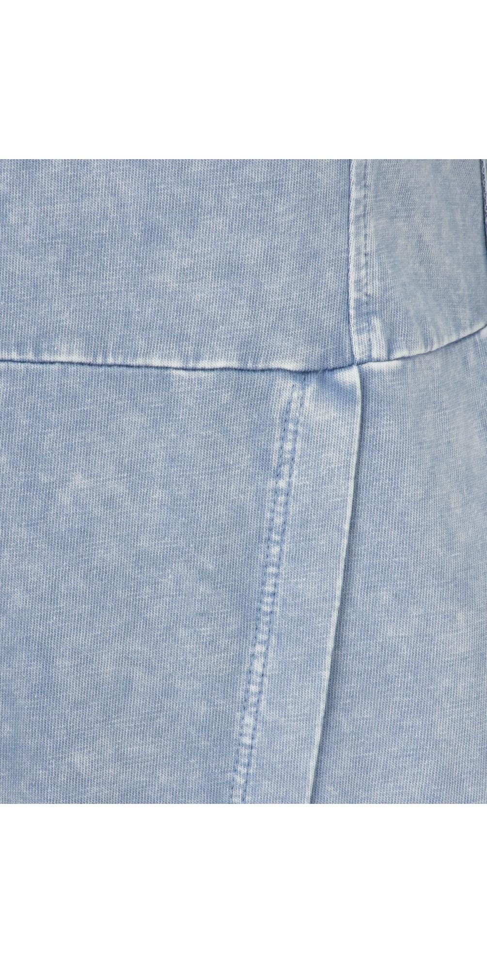 Long Sleeve Jersey Dress with Split Hem Detail main image