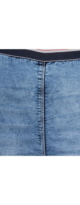 Sandwich Clothing Stretch Denim Wash Casual Tregging Blue Denim