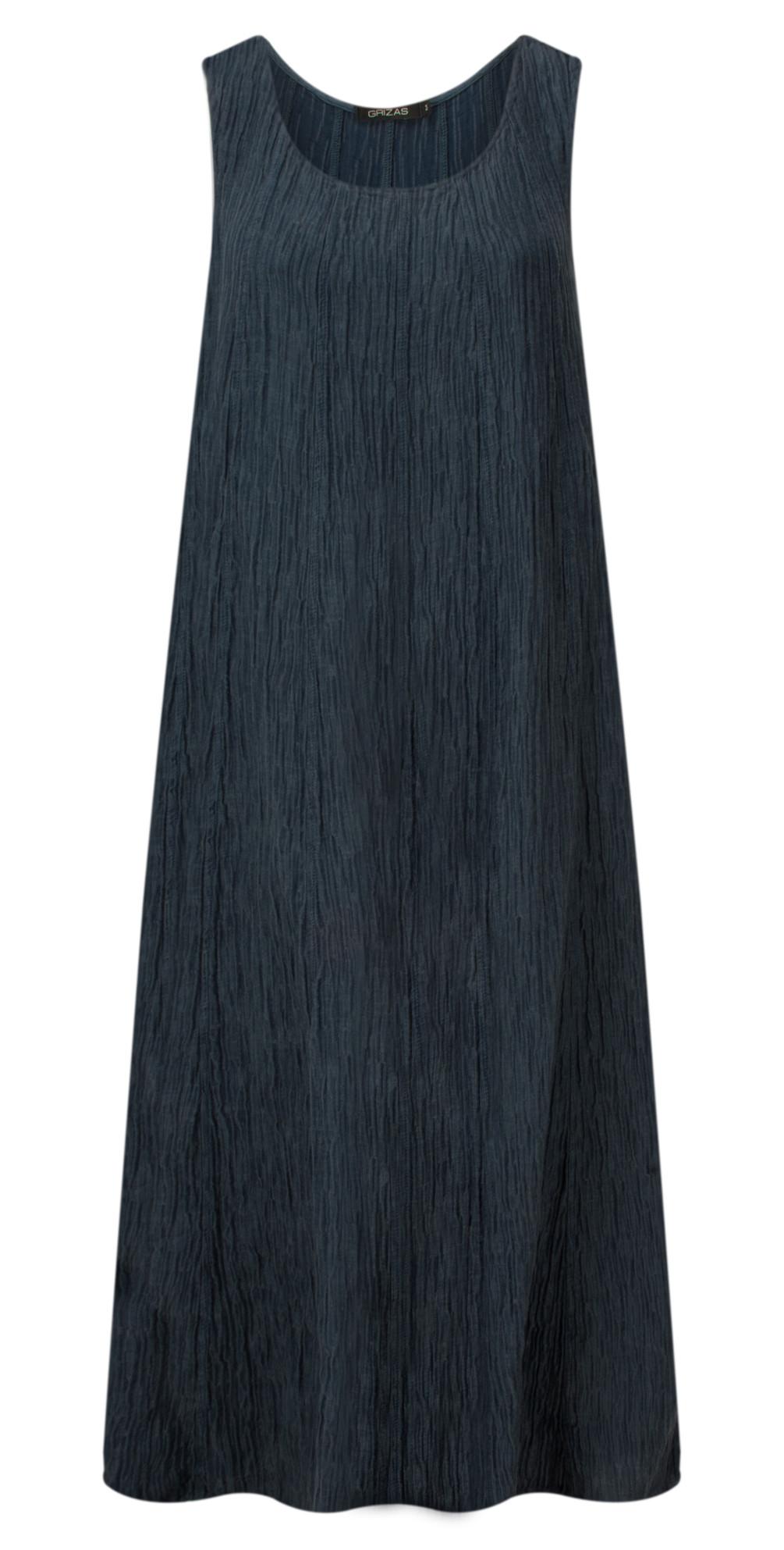 Silk Crinkle Long Dress main image