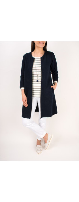 Masai Clothing Ildi A-Shaped Jacket  Navy