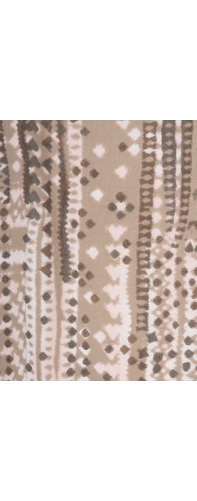 Sandwich Clothing Stitch Pattern Sleeveless Blouse Dark Wood