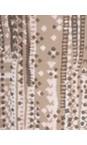 Sandwich Clothing Dark Wood Stitch Pattern Sleeveless Blouse