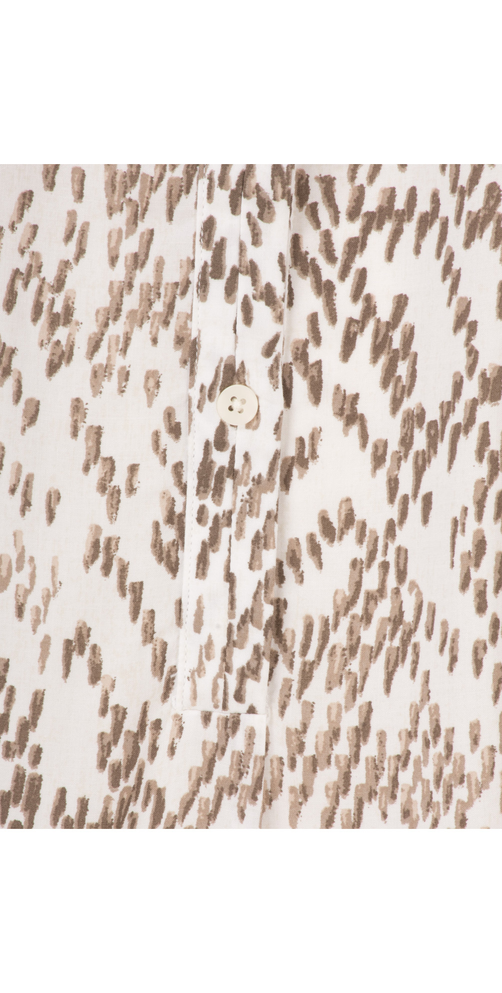 Chevron Pattern Long Sleeve Blouse main image