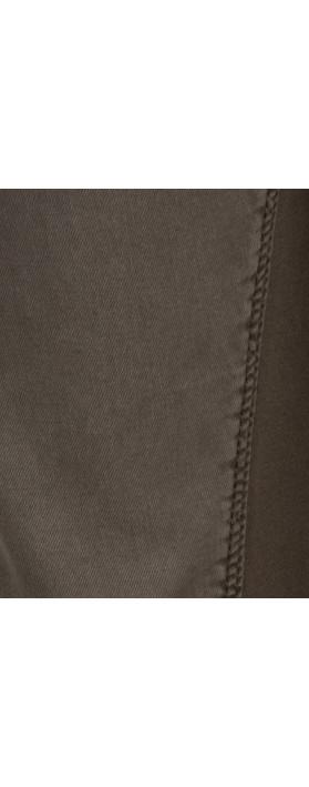 Sandwich Clothing Soft Stretch Casual Trouser Dark Wood