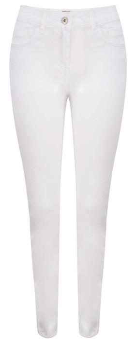 Sandwich Clothing Essential Antic Dye Stretch Skinny Trouser Pure White