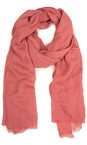 Sandwich Clothing Pink Rose Essential Crinkle Effect Scarf
