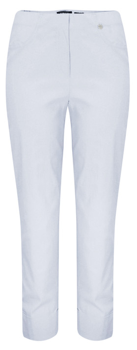 Robell Trousers Bella 7/8 Cropped Trouser  Azure Blue