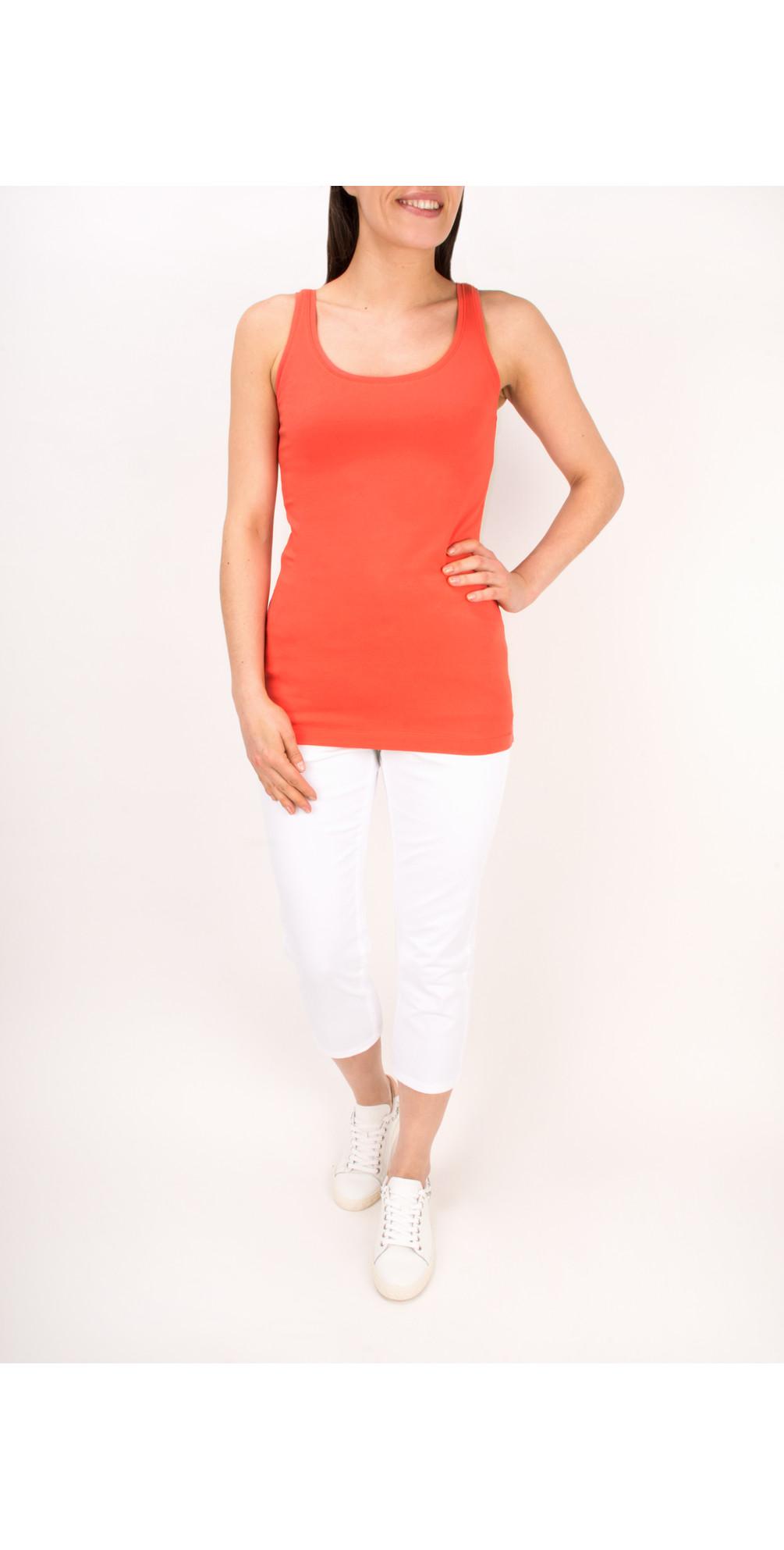 Essentials Stretch Cotton Jersey Vest main image