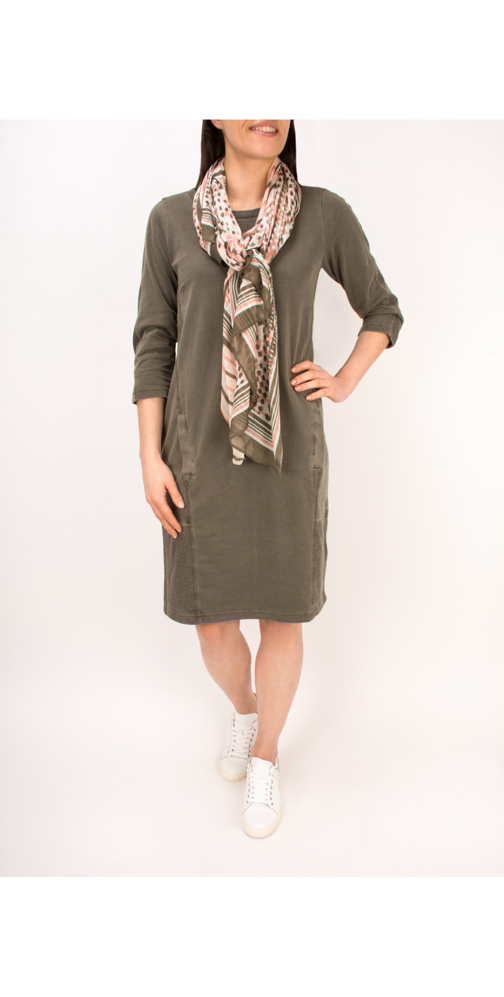 Essential Cotton Jersey Dress main image
