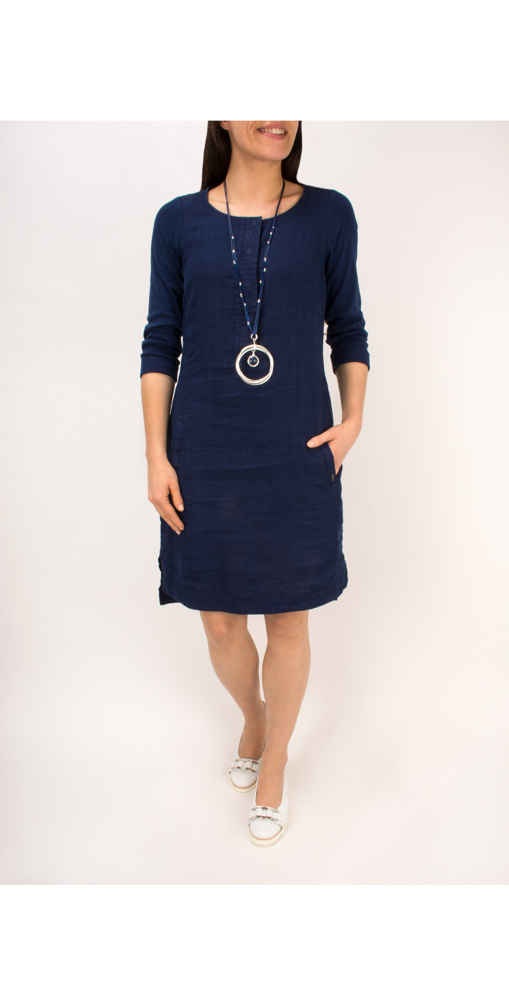 Linen Jersey Dress main image