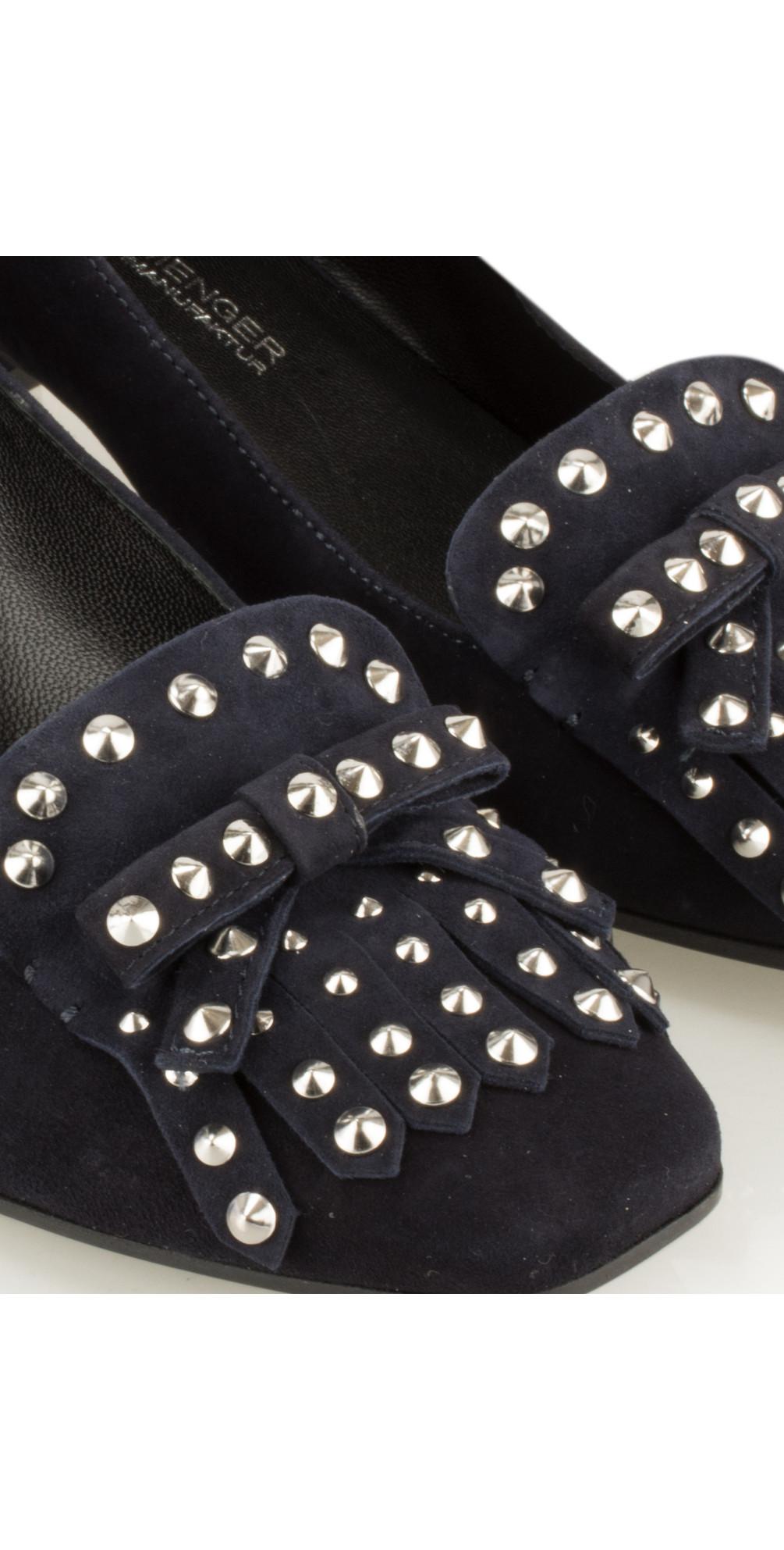 kennel und schmenger isabel shoe in ocean navy. Black Bedroom Furniture Sets. Home Design Ideas