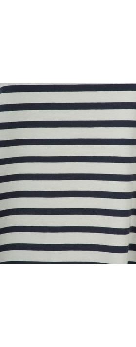 Mama B Cipro Stripe Top Stripe Blue