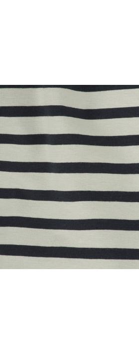 Mama B Sciarpa Scarf Stripe Blue