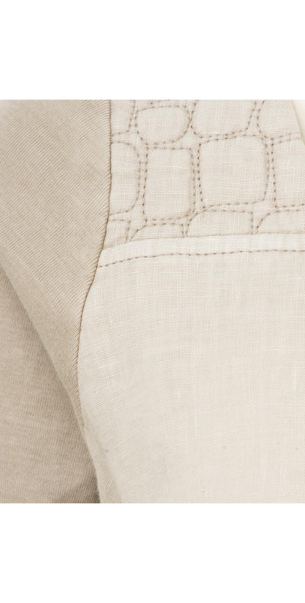 Woven Linen Dye Dress main image