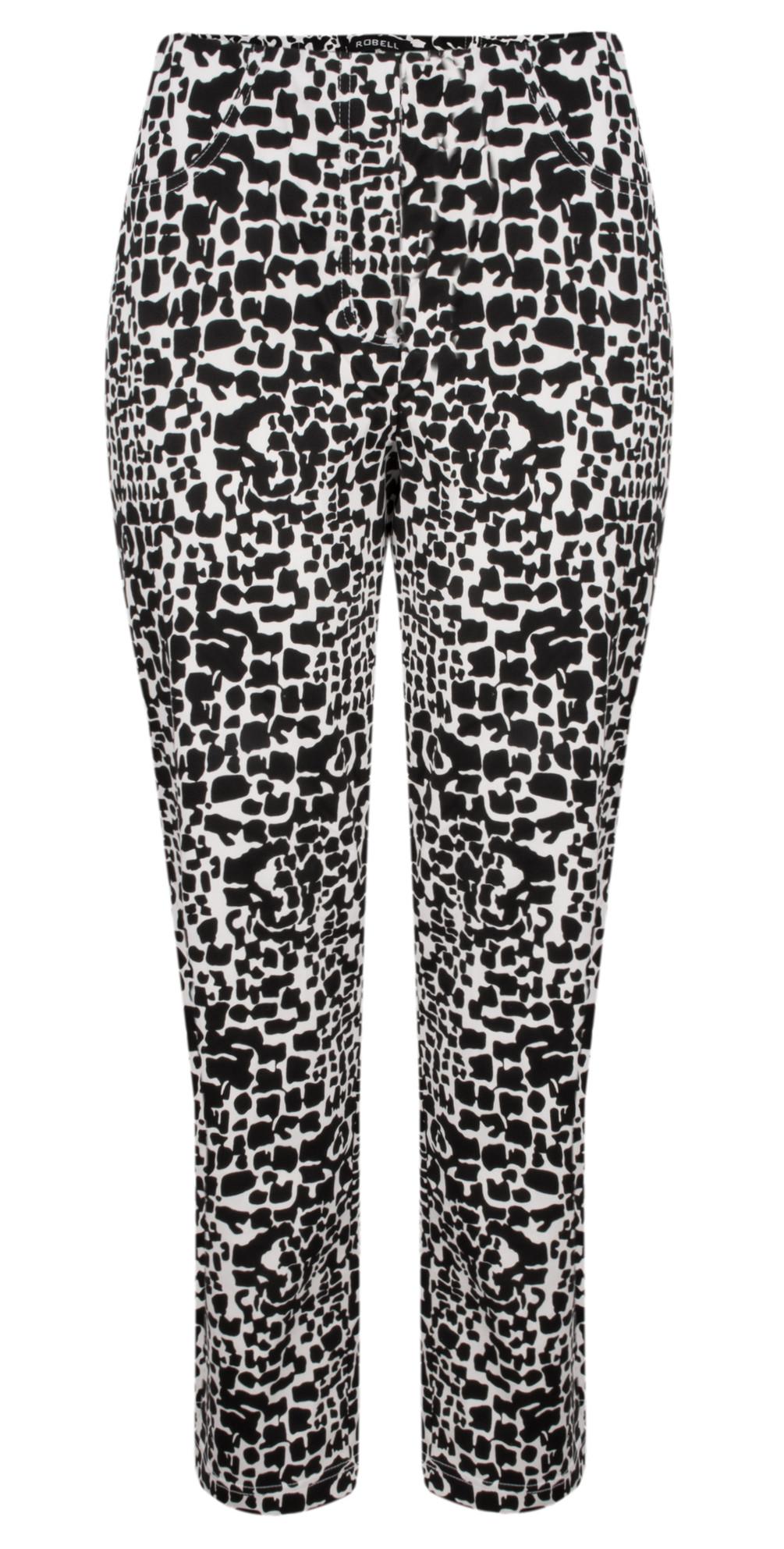 Bella 7/8 Animal Print Trousers main image