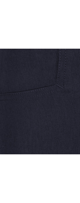 Robell Trousers Rose 09 7/8 Narrow Cropped Trouser Navy