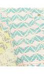 Sandwich Clothing Ocean Blue Diamond Check Short Sleeve Blouse